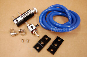 Manual Boost Controller Kit Mbc Universal Adjustable 0 1 30 Psi Turbo Bypass All