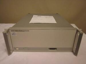 Agilent Hp 83651b 45 Mhz To 50 Ghz Synthesized Sweeper Generator 8510
