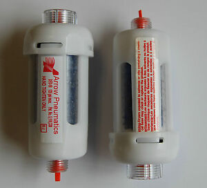 D12cj Motor Guard 1 4 Mini In line Disposable Desiccant Air Dryer Pack Of 2