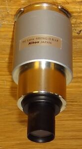 Nikon Microscope Eng Photo Camera Mount Adapter 0 6x For T2 Tube
