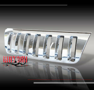 1999 2000 2001 2002 2003 2004 Jeep Grand Cherokee Sport Front Chrome Abs Grille