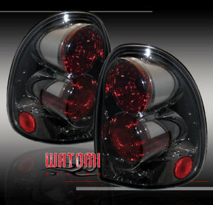1996 2000 Dodge Caravan 1998 Durango Tail Lights Smoke
