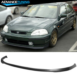 Fits 99 00 Honda Civic Type Sir Front Bumper Lip Spoiler Bodykit Urethane