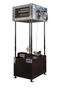 Waste Oil Heater furnace Lanair Mx250 With Tank And Chimney Free Ship Great Heat