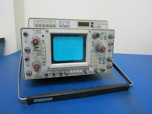 Tektronix 464 Storage Oscilliscope With Dm 40 For Parts