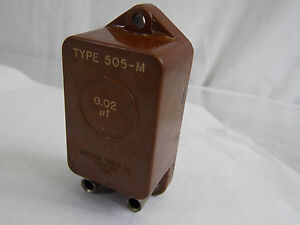 General Radio 0 02 f Type 505 m Standard Capacitor