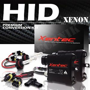 Xentec Hid Kit Slim Xenon 9003 H4 Hi Lo 6000k White High Low Conversion Lights
