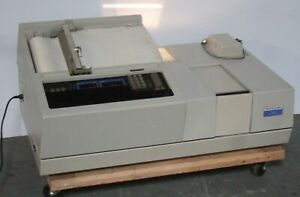 Perkin Elmer Hitachi 330 Uv vis nir Spectrophotometer Double Beam 310 0020