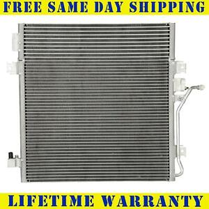 Ac A c Condenser For Jeep Dodge Fits Liberty Nitro 3 7 4 0 V6 6cyl 3664