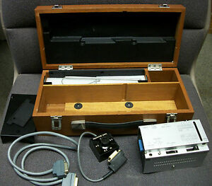 Taylor Hobson Surgraphic Chart Recorder Printer W Wood Case And Cables