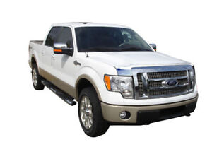 Bug Guard Hood Shield Chrome 622001 For Ford F 150 No Raptor 2009 2014