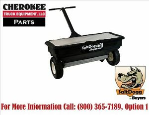 Saltdogg buyers Products Wb400 Walk behind Drop Spreader 200 Lb Capacity