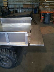 Aluminum Mule Utility Replacement Bed Kubota kawasaki Yamaha polaris Can Am
