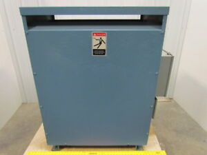 General Electric Type Ql 145 Kva 3 Ph Dry Type Transformer 460v Pri 460 265 Sec