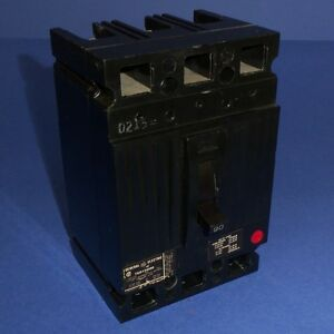 Ge General Electric 480vac 90a 3 pole Circuit Breaker Ted134090