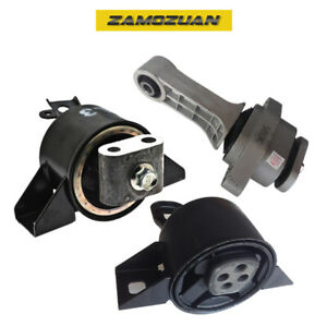 Engine Motor Trans Mount 3pcs For 04 08 Chevy Aveo Aveo5 Pontiac Wave 1 6l