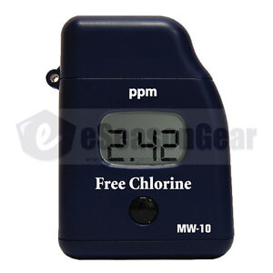 Milwaukee Mw10 Free Chlorine Mini Colorimeter Photometer Meter Instruments