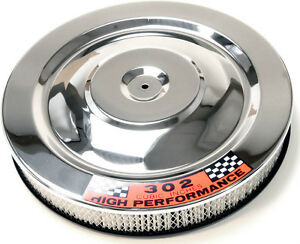 Ford Chrome Air Cleaner Mustang 1964 1965 1966 64 65 66 302 Gt Coupe Fastback V8