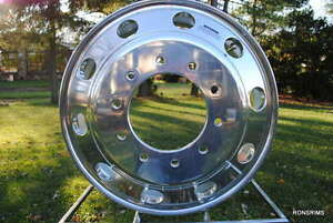 19 5 X 6 Ford Superduty F450 550 Alum Accuride Polished Both Side alcoa Style