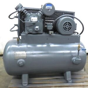 Ingersoll Rand Air Compressor Type 30 Model 242 5c3 5hp Motor Ser 30t 490875