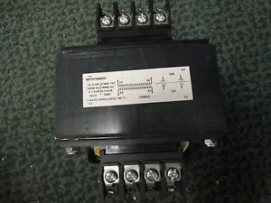 Square D Control Transformer 9070t500d3 208 120 1 Phase 5 3kva New Surplus