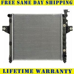 Radiator For 1999 2000 Jeep Grand Cherokee 4 7l V8 Fast Free Shipping