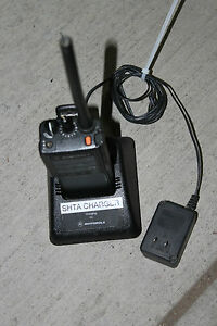 Motorola Ht 1000 Radios Model H01rdc9aa1dn nx With Charger