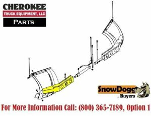 Snowdogg Buyers Products 16122420 Expanding Wing Frame Driver S Side