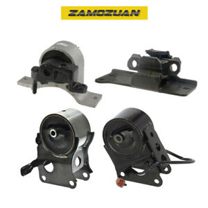Engine Trans Mount 4pcs For 2003 2007 Nissan Murano 3 5l 2wd With Front Sensor