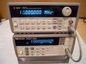 Keysight Agilent 53181a Rf Frequency Counter 225mhz Ee Lab Instrument Hp ib