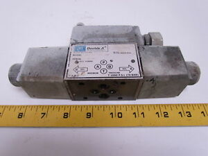 Double A Solenoid Operated Directional Control Valve Max Pressure 1000 Psi