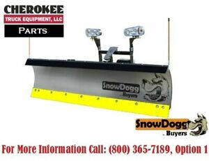 Snowdogg Buyers Products 16120620 Black Steel Cutting Edge For Ex80 Plow