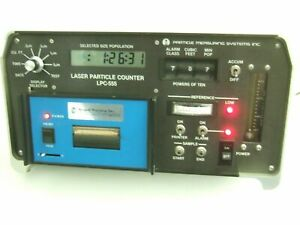 Particle Measuring System Pms Lpc 555 Laser Particle Counter 344 0283 20 Seagull