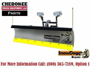 Snowdogg buyers Products 16120705 Black Rubber Cutting Edge For Md68 Plow