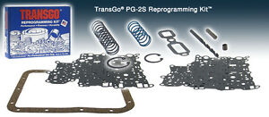 Transgo Aluminum Powerglide Transmission Reprogramming Shift Kit Pg 2s 1963 73