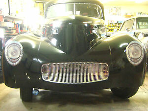 1941 Willys Front Grill Headlight Decals