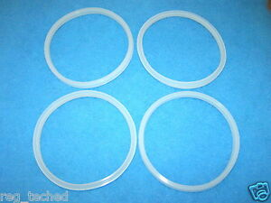 Lot Of 4 Manual Sausage Stuffer Replacement Gasket Seal 3l 5l 7l Mtn Lem others