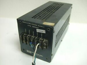 Pmc Power Mate Corp Fps 18 10 Regulated Power Supply 325685 100 130v 0277c3 c2