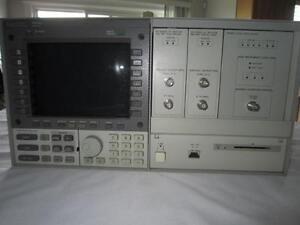 Hp 70004a Display 70900b Oscillator 70902a 70903a mint