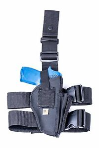 STI Spartan 1911  Nylon Tactical Drop Leg Thigh Holster with Mag Pouch