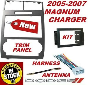 05 06 07 Dodge Charger Magnum Radio Stereo Car Installation Double Din Dash Kit
