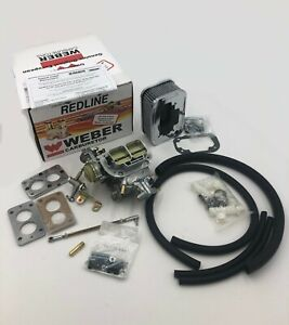Jeep Genuine Weber 32 36 E Choke Carburetor Conversion K551 Free Dvd Yes Free