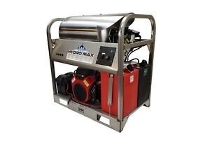 Hot cold Water Pressure Washer 6gpm 4000psi new ss Frame