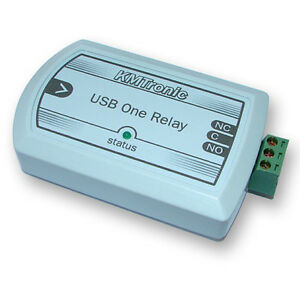 Kmtronic Usb One Channel Relay For Mach3 Cnc Software Box
