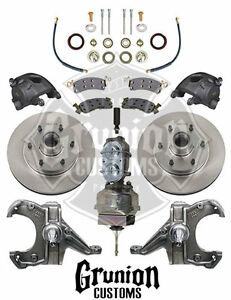 Mcgaughys Chevy C10 1960 62 Drop Spindles 6 Lug Power Disc Brake Conversion