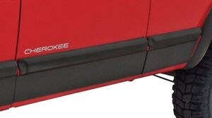 Jeep Xj Cherokee Rocker Panel Protection Xrc By Smittybilt Rock Armor Cladding
