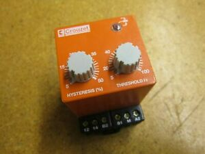 Crouzet Diart 24vac Current Control Relay 250vac 10s 0 1s Used