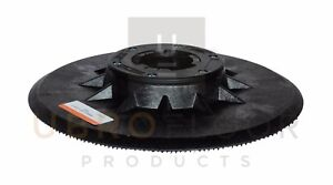 10242a Clarke 16 Black Plastic Pad Driver Plate With Beveled Edge