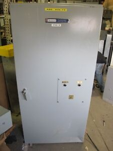 Russelectric 400 Amp 277 480 Volt Automatic Transfer Switch Ats116