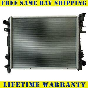 Radiator For 2002 2008 Dodge Ram 1500 Van 5 9l 4 7l 3 7l V6 V8